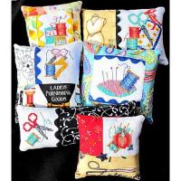 6 Cross Stitch Pincushions - Product Image