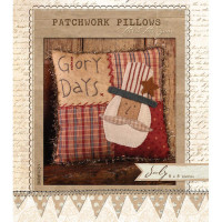 Patchwork Pillow July - Product Image