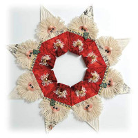 Jingle Bell Wreath Pattern & Accessories Pack - Product Image