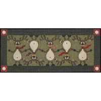 Topsy Turvy Reindeer Pattern & Accessories Pack - Product Image