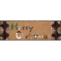 Log Cabin Christmas Pattern & Accessories Pack - Product Image