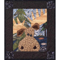 Moose On The Loose Stitch by the Number - Product Image