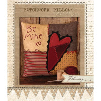 Patchwork Pillow February - Product Image