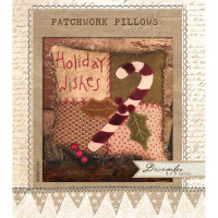 Patchwork Pillow December - Product Image