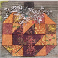 Pumpkin Patch Espresso Fabric Kit - Product Image