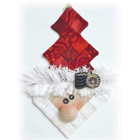 Santa Ice Cream Shot Fabric Kit - Product Image