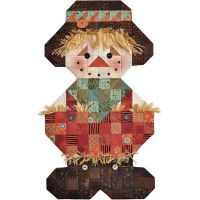 Roly Poly Scarecrow Pattern & Accessories Pack - Product Image
