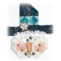 Snowman Ice Cream Shot Fabric Kit - Product Image